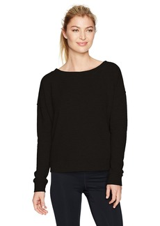 Betsey Johnson Women's Laced Back Sweatshirt  XL
