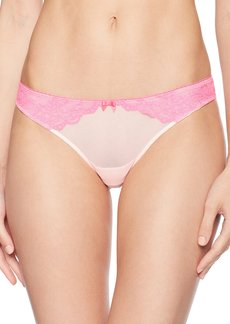 Betsey Johnson Women's Lacey Thong Panty  M