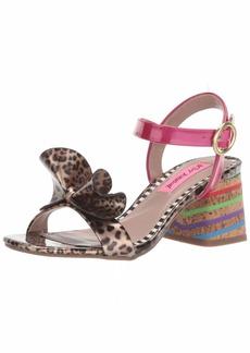 Betsey Johnson Women's LANORE Heeled Sandal   M US