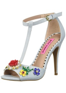 Betsey Johnson Women's Lenox Heeled Sandal