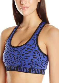 Betsey Johnson Women's Leopard Jacquard Seamless Bra
