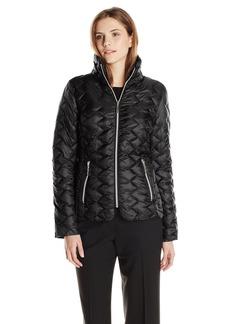 Betsey Johnson Women's Lightweight Packable Jacket  Medium