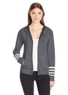 Betsey Johnson Women's Logo Stripe Icy Wash Jacket  XS