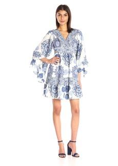 Betsey Johnson Women's Medallion-Print Cdc Boho Dress