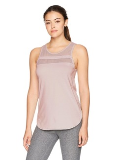 Betsey Johnson Women's Mesh Stripe Inset Tank  S