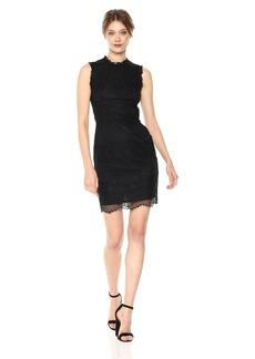 Betsey Johnson Women's Mockneck lace Dress