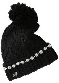 Betsey Johnson Women's on the Rocks Cuff Hat