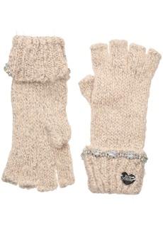 Betsey Johnson Women's On The Rocks Half Finger Glove
