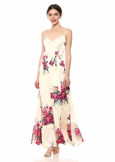 Betsey Johnson Women's Open Back Maxi Dress