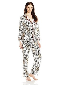 Betsey Johnson Women's Packaged Flannel Pajama Set