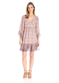 Betsey Johnson Women's Paisley Printed Boho Dress