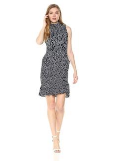 Betsey Johnson Women's Pebble Dot Crepe Dress