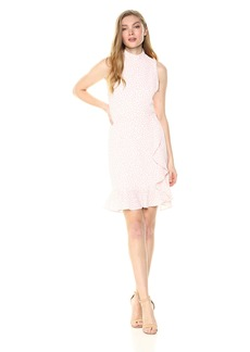 Betsey Johnson Women's Pebble Dot Crepe Dress