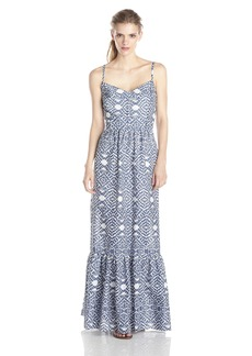 Betsey Johnson Women's Printed Maxi Dress