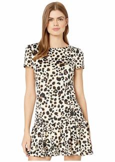 Betsey Johnson Women's Printed Ruffle Hem Dress