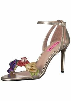 Betsey Johnson Women's Quinn Heeled Sandal