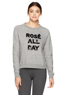 Betsey Johnson Women's Rose All Day Sequin Pullover  M