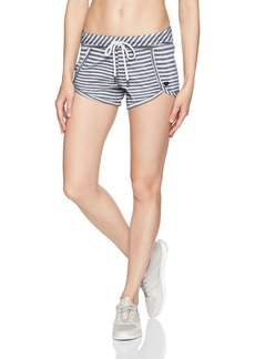 Betsey Johnson Women's Scallop Hem Sweatshort  XL