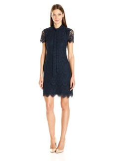 Betsey Johnson Women's Scallop Lace Dress