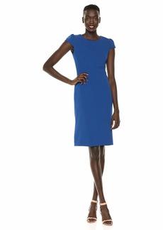 Betsey Johnson Women's Scuba Crepe Midi Dress -