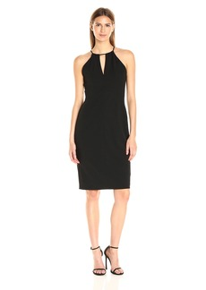 Betsey Johnson Women's Scuba Crepe Sheath Little Dress