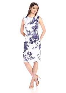 Betsey Johnson Women's Scuba Midi Dress