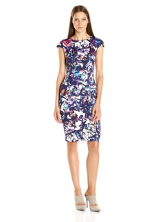 Betsey Johnson Women's Scuba Print Dress