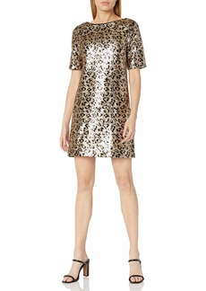 Betsey Johnson Women's Sequin Shift Dress