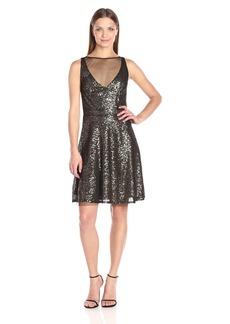 Betsey Johnson Women's Short Cocktail Sequins Dress