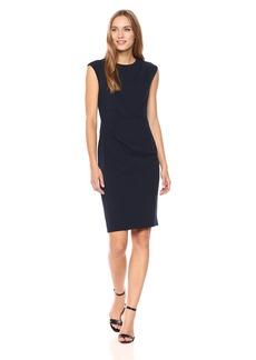 Betsey Johnson Women's Short Sleeve Scuba Crepe Dress