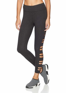 Betsey Johnson Women's SIDE BAND CUTOUT 7/8 LEGGING    EXTRA LARGE