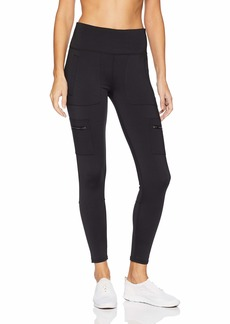 Betsey Johnson Women's Side Pocket Patched Leggings  Extra Large