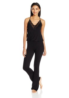 Betsey Johnson Women's Sleepy Lace Jumpsuit  L
