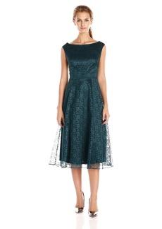 Betsey Johnson Women's Sleeveless Fit Flare Lace Dress