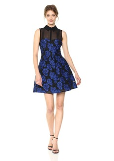 Betsey Johnson Women's Sleevless Jacquard Dress