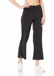 Betsey Johnson Women's Slit Hem Flare 7/8 Pant  Extra Small