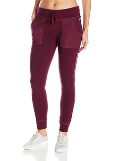 Betsey Johnson Women's Space-Dye Terry Skinny Sweatpants