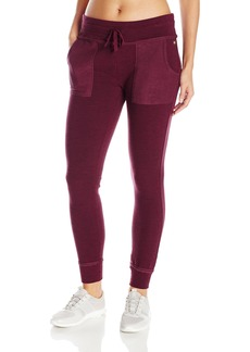 Betsey Johnson Women's Space-Dye Terry Skinny Sweatpants