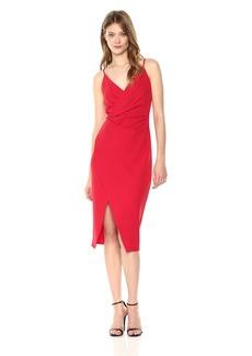 Betsey Johnson Women's Spaghetti Strap Scuba Crepe Dress