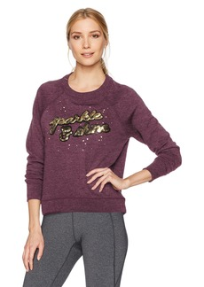 Betsey Johnson Women's Sparkle Shine Sequin Pullover  M