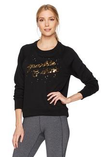 Betsey Johnson Women's Sparkle Shine Sequin Pullover  S