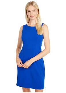 Betsey Johnson Women's Stretch Crepe Dress with Cutout Back