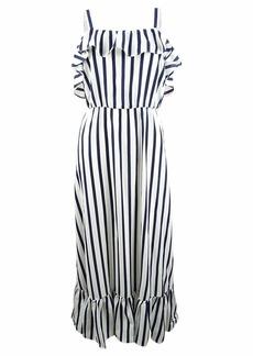 Betsey Johnson Women's Striped Maxi Dress