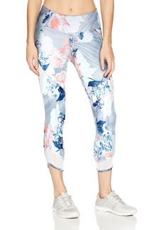 Betsey Johnson Women's Sueded Crop Legging  Extra Large