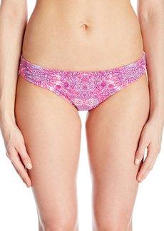 Betsey Johnson Womens Swimwear Women's Princess Charming Hipster Bikini Bottom  S