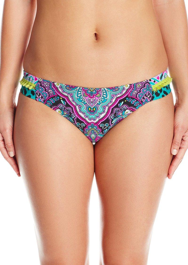 bec8d8530f Betsey Johnson Womens Swimwear Women s Arabian Night Cheeky Hipster Bikini  Bottom M