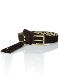 Betsey Johnson Women's Tassel Pant Belt