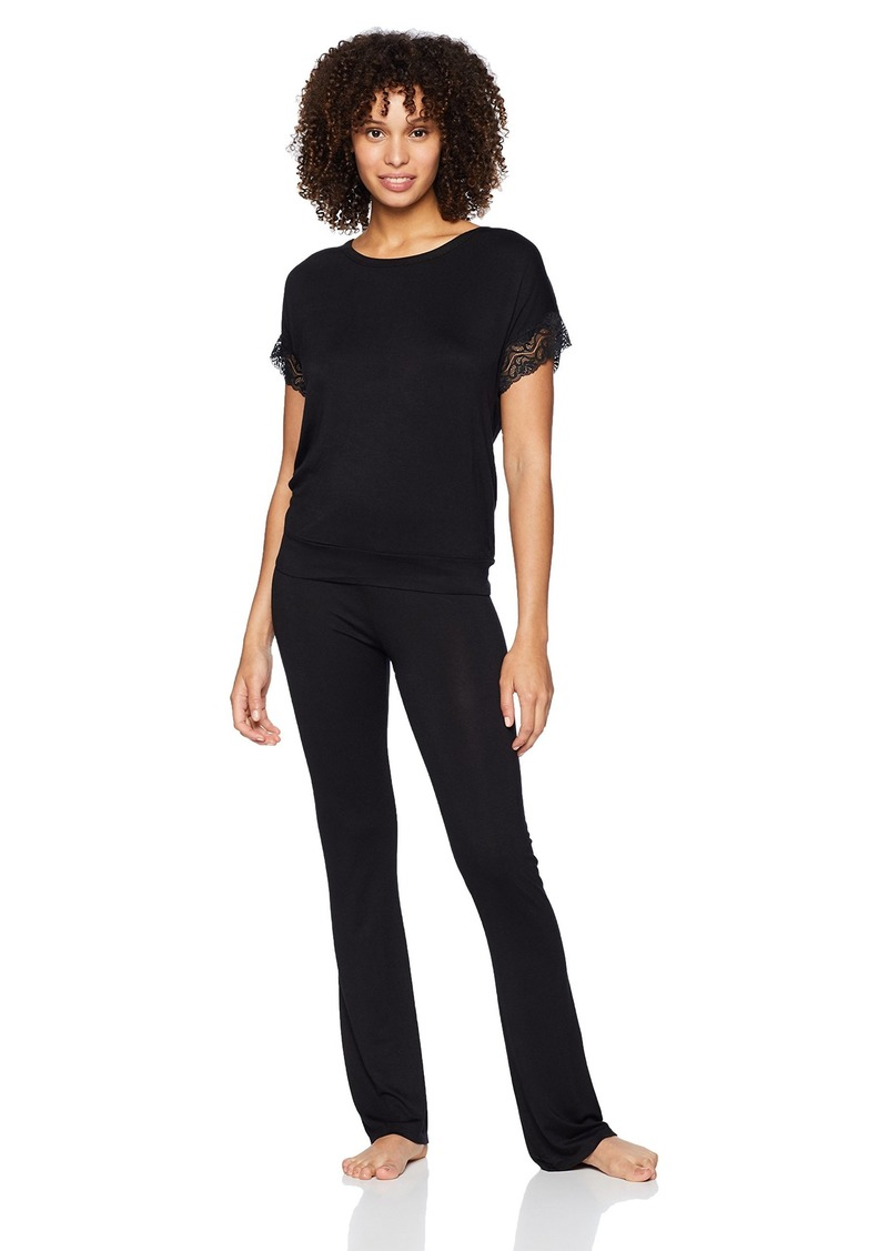 Betsey Johnson Women's TIE-DYE LACE Pajama Set  S