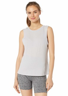 Betsey Johnson Women's Tie Up Back Swing Muscle Tank  Extra Small