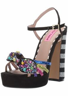 Betsey Johnson Women's Tobie Heeled Sandal